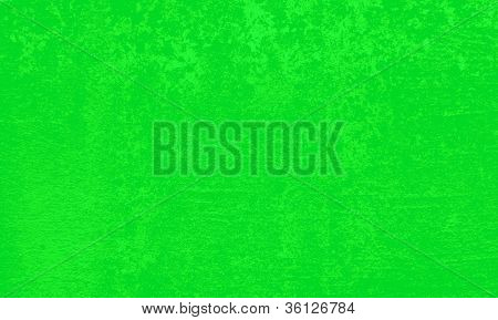 Background With Green Wall