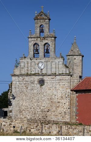 Church Of Orzales, Campoo De Yuso