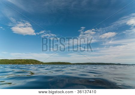 Canadian Lake In Summer
