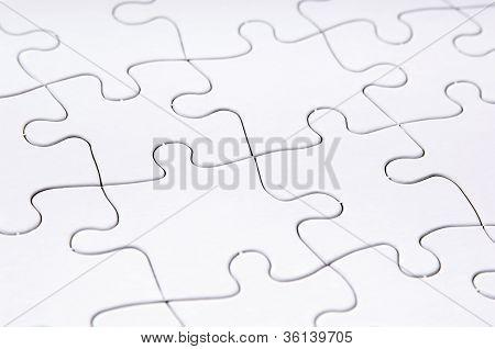 Jigsaw Puzzle Blank