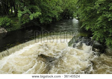 Weir on River Fergus