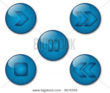 Aqua Player Icons