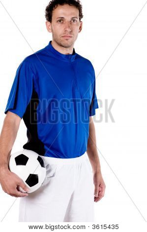 Portrait From A Soccer Player