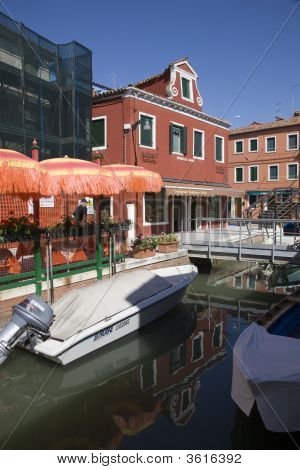 Burano\'s Colorful Houses Offer The Visitor A Respite