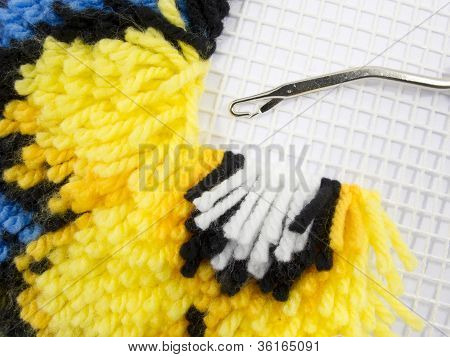 Latch Hook Rug Stitch