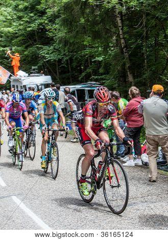 The Cyclist Evans Cadel