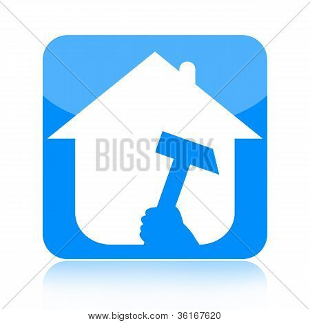 Home renovation icon