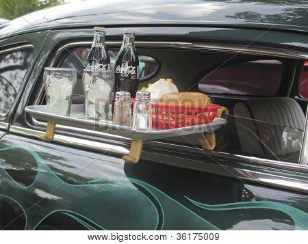 1949 Mercury Coupe Drive Thru Tray
