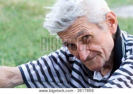 Smiling Senior Man