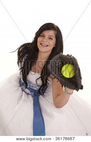 Vestido de fiesta de Softbol