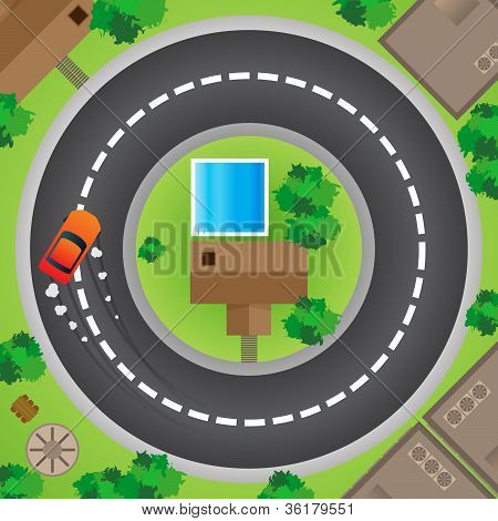 Driving In Circle