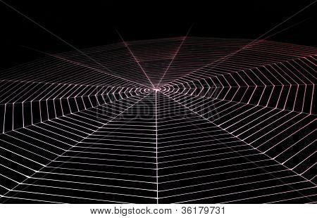 Geschilderde Spiderweb