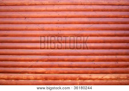Lacquered Wood Planks Background