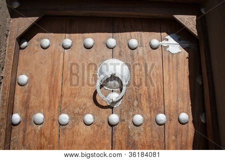 Detail Of Traditional Door, Timbuktu.