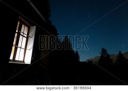 Chalet Starry Night