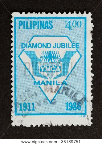 Manila - 1986: Stamp Printed In Manila