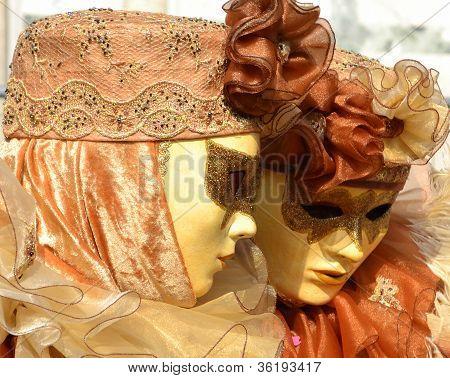 Venice Carnival Twins