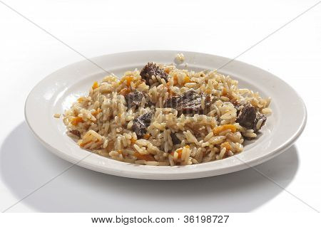 Pilau In The Plate