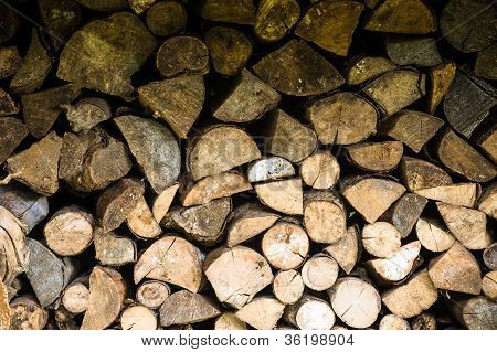 Background Fire Wood Picture