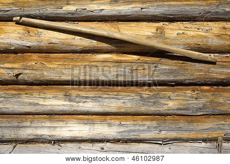 Wooden Wall And Yoke