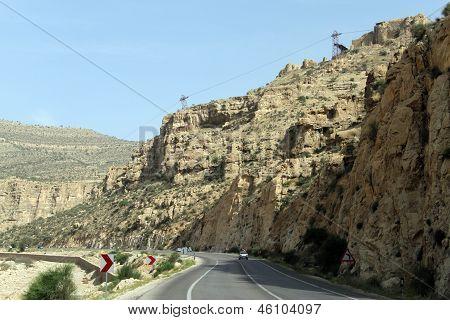 Road And Ruins