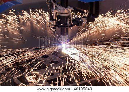 Industrielle Maschine für Plasmaschneiden