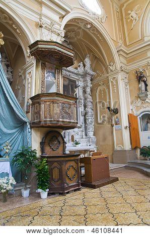 Church of St. Domenico. Tricase. Puglia. Italy.