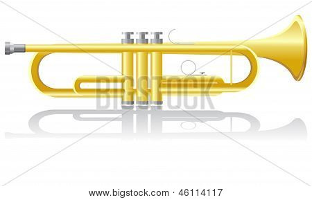 Trumpet Vector Illustration