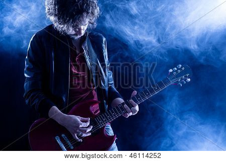 Guitarrista de rock