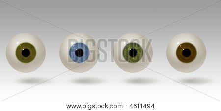 Realistic Eyeball Illustration