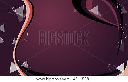 Purple Background with triangle