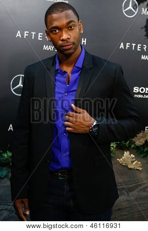 NEW YORK - MAY 29: Comedian Jay Pharoah attends the premiere of
