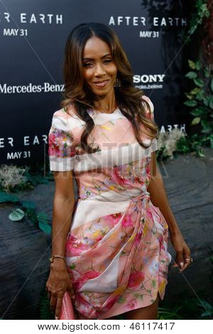 NEW YORK - MAY 29: Producer Jada Pinkett Smith attends the premiere of
