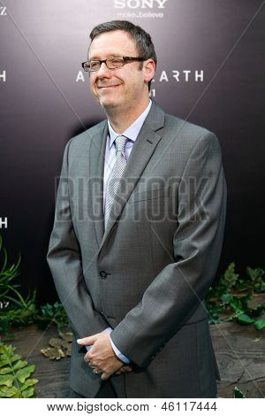 NEW YORK - MAY 29: Screenwriter Gary Whitta attends the premiere of
