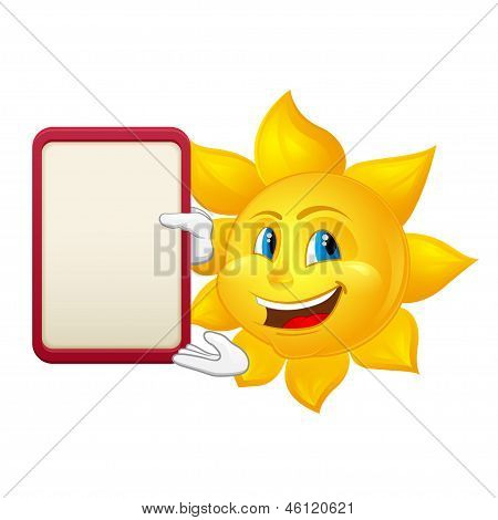 Blue-eyed Sun With Demonstration Board