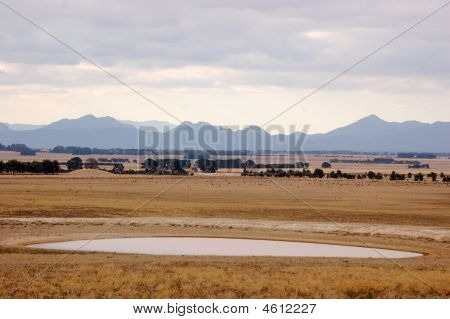 Grass Plains Grampians Victoria