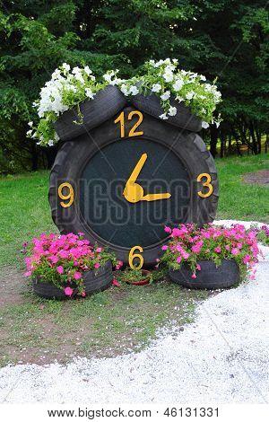 Gummi-Clock