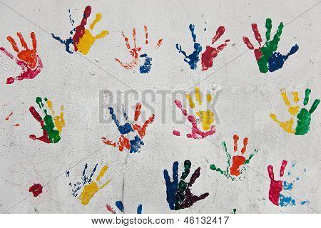 Kids Hand Prints