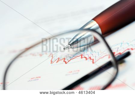 Stock Exchange Graphs Analysis