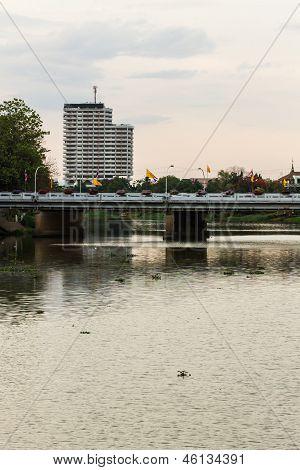 Nawaras Bridge In Chiangmai