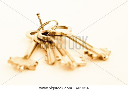 Nail On Which Keys Hang