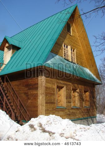 Russian Log Hut