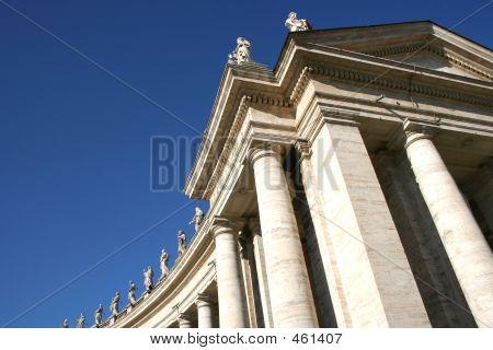 Rome Vatican Architecture Detail