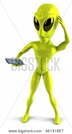 Divertido alien