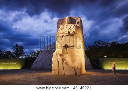 Washington, Dc - October 10: Memorial To Dr. Martin Luther King On October 10, 2012. The Memorial Is
