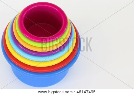 Inverted Stacking Cups