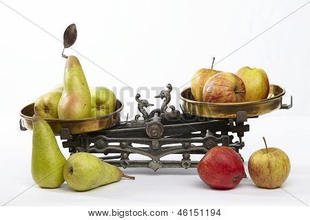 Compare Apples To Pears