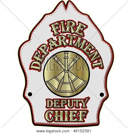 Fire Department Deputy Chief Shield