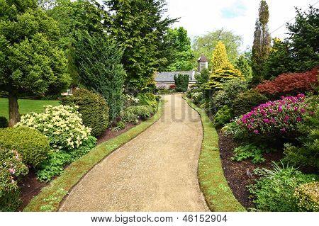 Schönen Frühling Garten