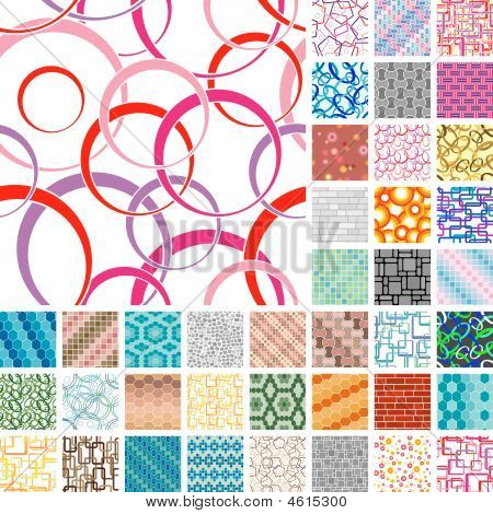 Many Seamless Patterns